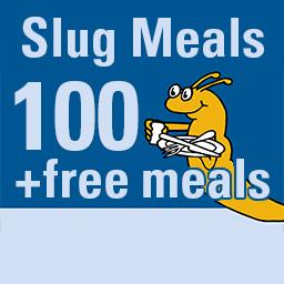100 Slug meal icon